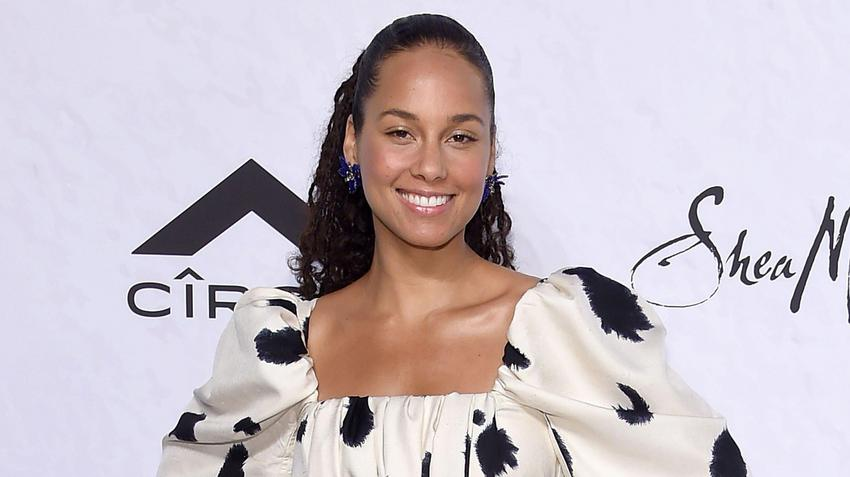Alicia Keys na imprezie Variety's Power of Women