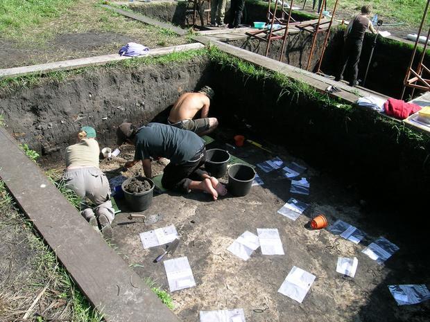 Stanowisko archeologiczne w Bruszczewie