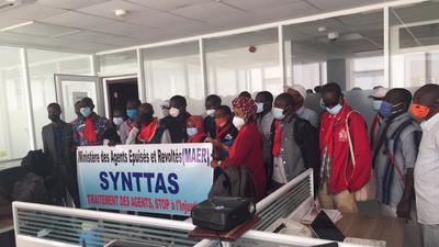 Fronde du Synttas : les grévistes suspendent leur diète