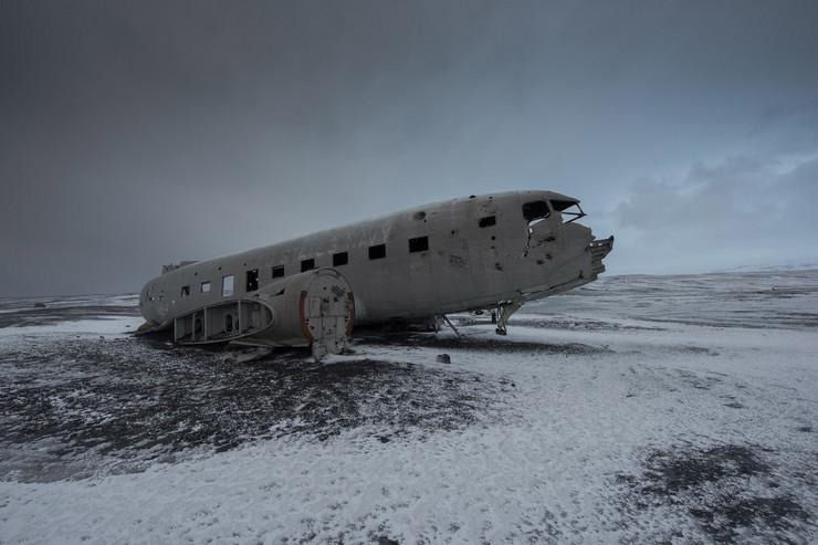Olupina aviona na Islandu profimedia-0270468644
