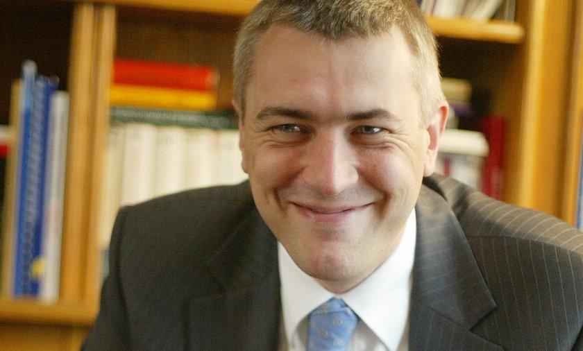 Roman Giertych, były prezes Młodzieży Wszechpolskiej, Ligi Polskich Rodzin były wicepremier w rządzie Jarosława Kaczyńskiego
