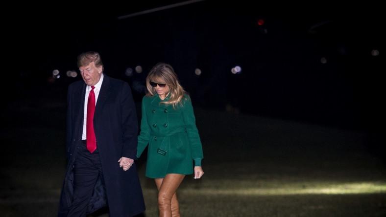 Para prezydencka USA wróciła tuż po świętach do Białego Domu z krótkiej podróży do Iraku...