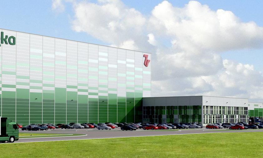 Centrum logistyczne k. Radzymina