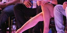 """Nogi gwiazdy na widowni """"Tańca..."""". Której?"""