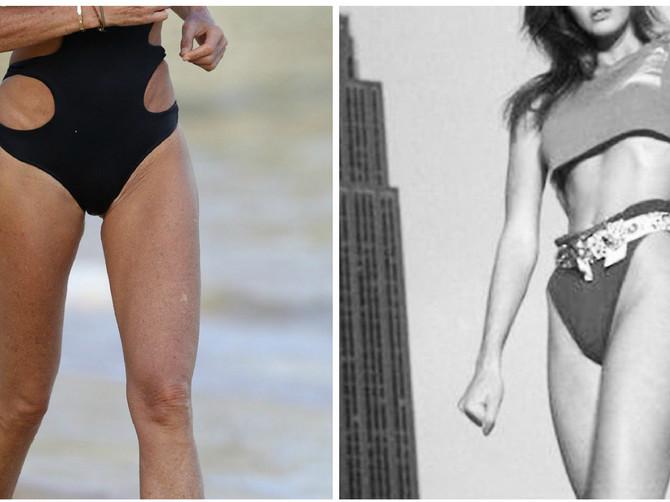 Ove DVE FOTOGRAFIJE su nastale u razmaku od 38 GODINA! Žena zvana TELO otkrila da vitkost i mladolikost duguje OVOM ZELENOM NAPITKU!
