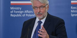 Waszczykowski usłyszał to od ukraińskiego ministra
