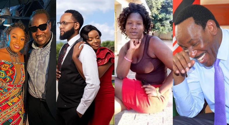 Betty Kyallo, Willis Raburu, Muthoni Mukiri, Isaac, Marion Obunga and Ezekiel Mutua