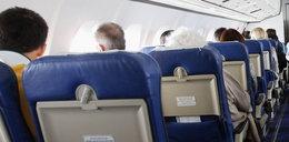 Śmierć na pokładzie samolotu tanich linii