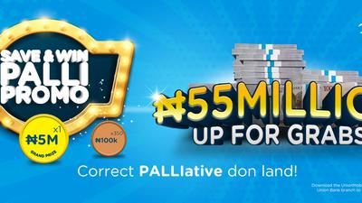 Save and Win Palli Promo: 50 lucky Union Bank customers just got richer!!