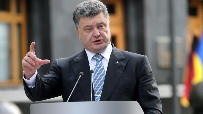 Poroszenko: Agresja, która uderzyła w Ukrainę, zagraża światu