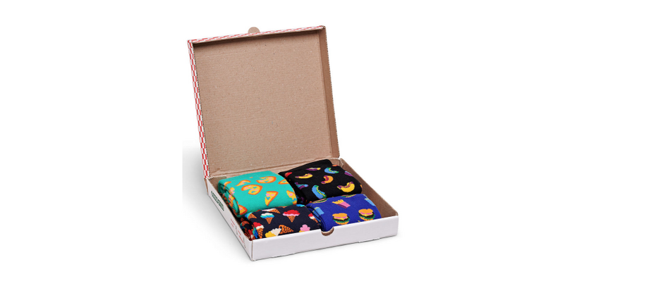 HAPPY SOCKS JUNK FOOD GIFT BOX