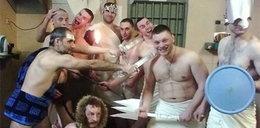 Impreza w więzieniu. Kryminaliści przebrali się za...