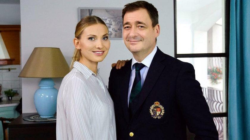 Joanna Moro i Jacek Rozenek