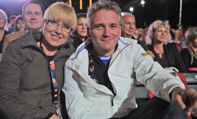 Agata Młynarska i Jarosław Kret