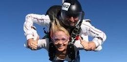 Anna Samusionek skoczyła ze spadochronem. Dużo FOTO