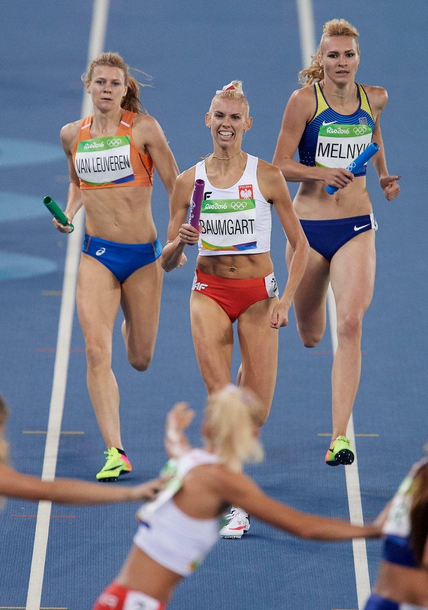 Rio 2016: polska sztafeta 4x400m i Joanna Jóźwik powalczą o medale