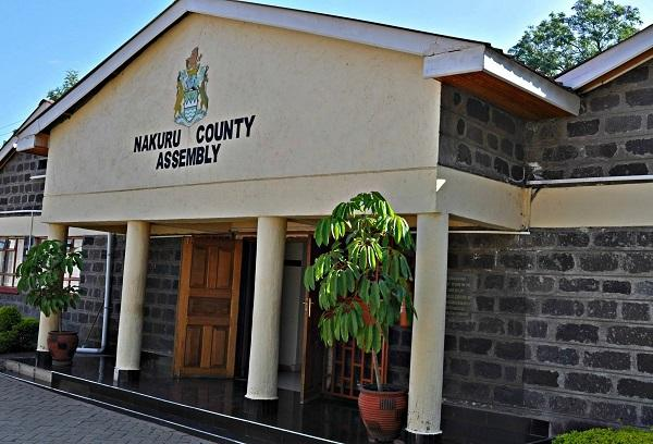 Entrance to the Nakuru County Assembly