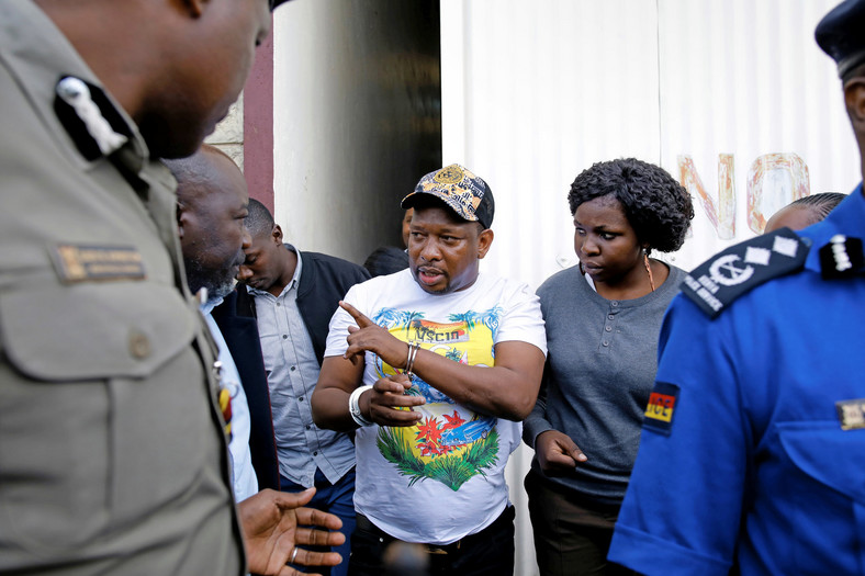 File Image of Governor Mike Sonko's arrest in Voi