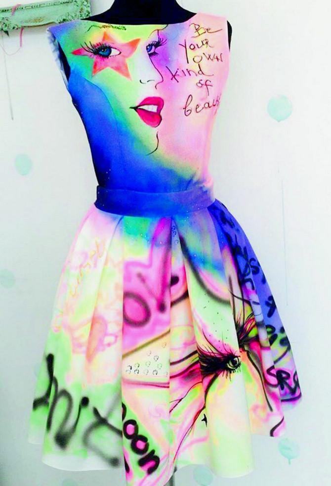 Osim voskom, Maja modele oslikava i samo bojama, a sve zavisi od želje kupca