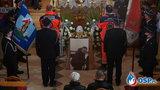 Pogrzeb młodego strażaka Michała. Planował ślub, osierocił 2-letnią córeczkę