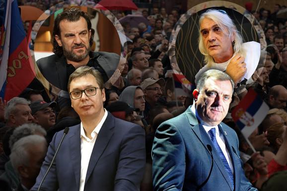 KAKO ĆE IZGLEDATI DANAŠNJI MITING SNS Govoriće Vučić, Dodik, Brnabić, Dačić i Sijarto, video-bimovi PO CELOM GRADU