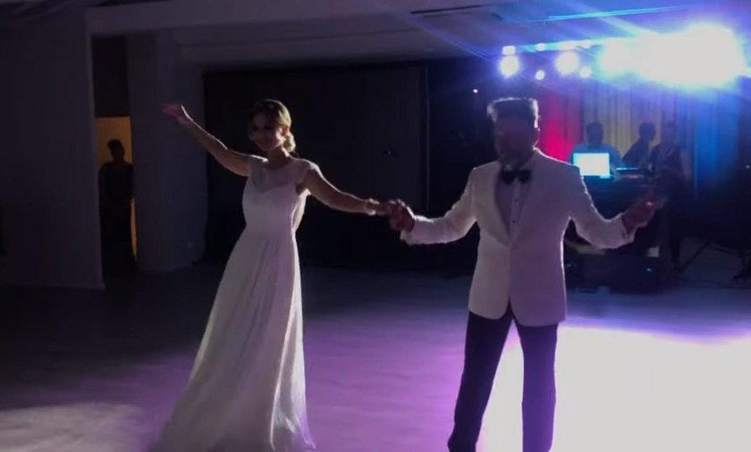 Pierwszy taniec Krzysztofa Rutkowskiego i Mai Plich