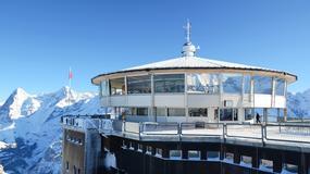 Ze szczytu Schilthorn znanego z filmu o agencie 007 ewakuowano 400 osób