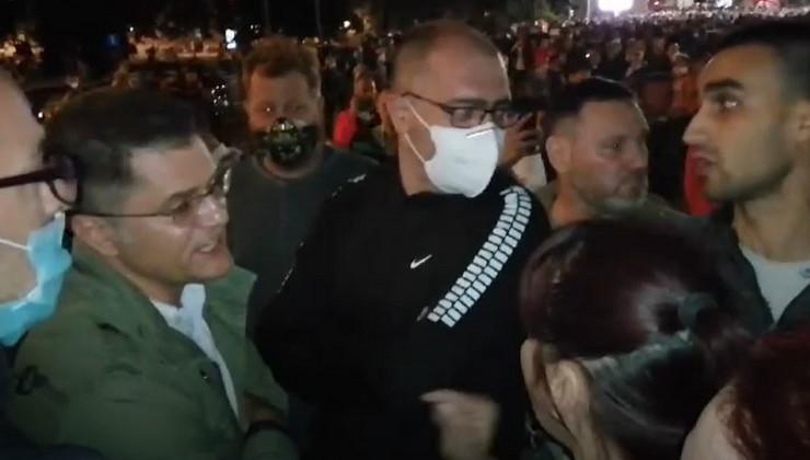Vuk Jeremić, protesti