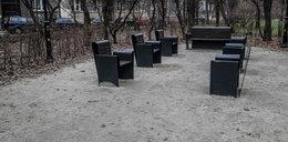 Alejki za milion w Parku Krakowskim toną w piachu i kurzu