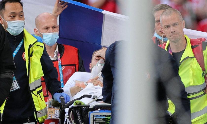 Christian Eriksen przeszedł zawał serca w czasie meczu