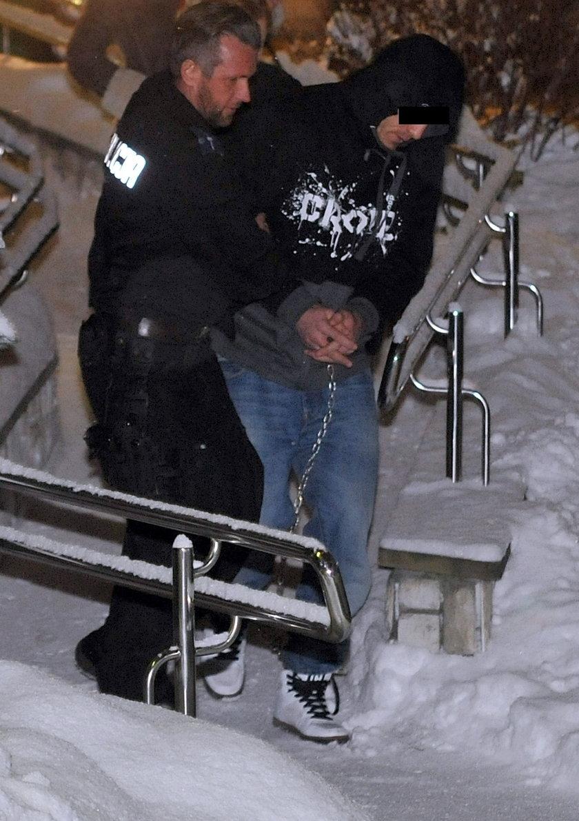 Gruziński nożownik zatrzymany