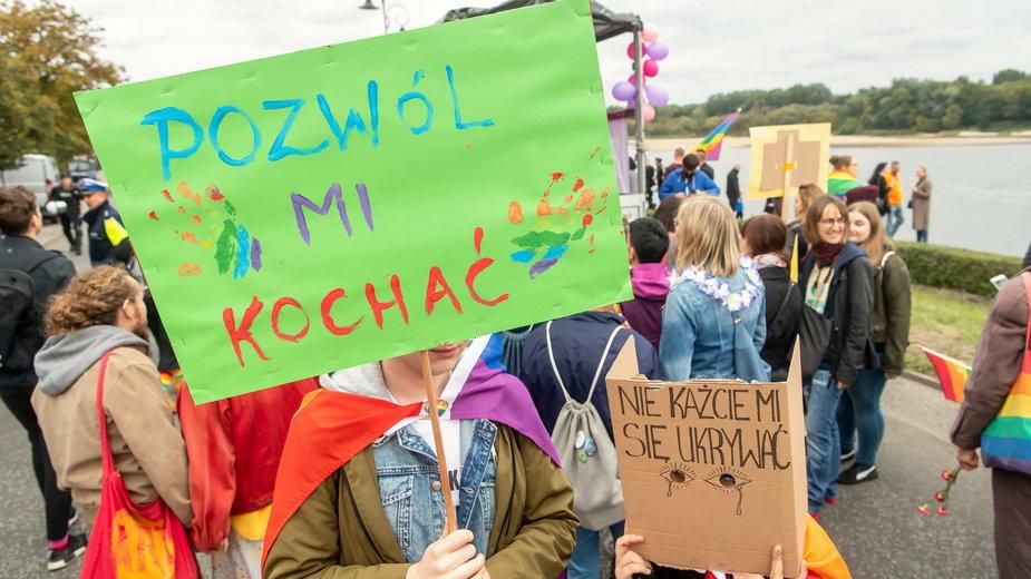 Marsz równości osób LGBT