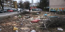 Centrum Gdyni jak śmietnisko