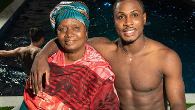 'She's my queen, I will do anything for her'; Odion Ighalo says as he takes his mum on vacation