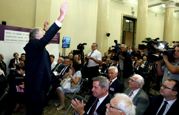 W nadzwyczajnym kongresie, który odbył się 3 września w Warszawie, uczestniczyło tysiąc sędziów