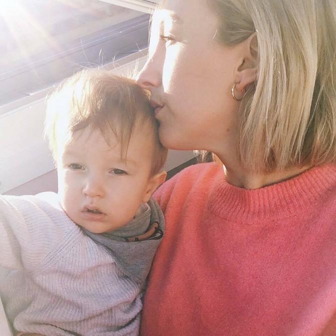 Ema sa sinom Tedijem