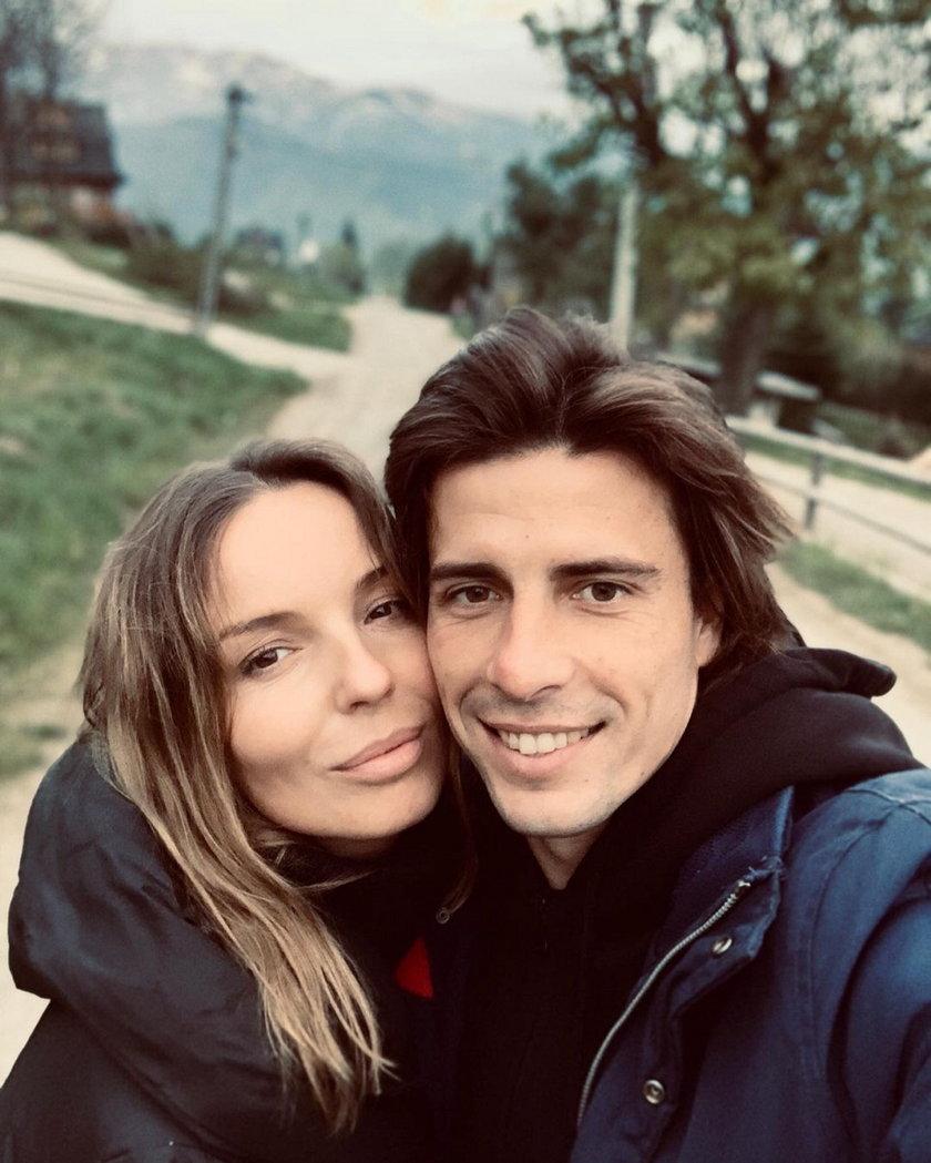 Agnieszka Włodarczyk i Robert Karaś
