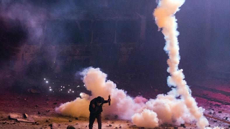 Kijów Ukraina zamieszki