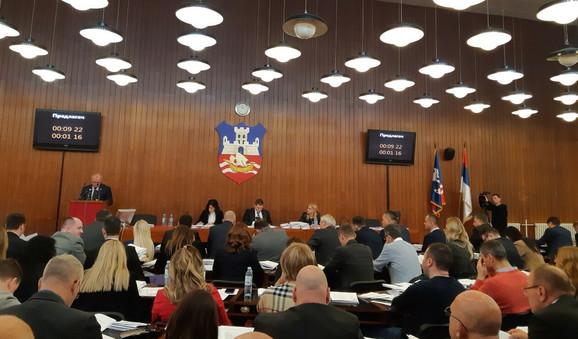 Sednica Skupštine grada Beograda