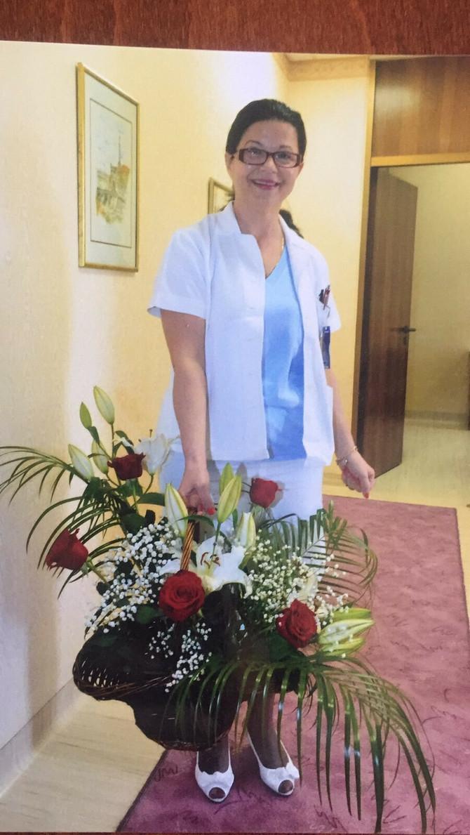 Glavna medicinska sestra na VMA Mara Tešić