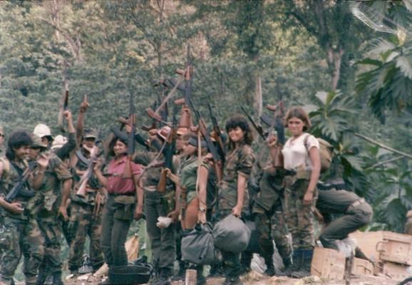 Kontraši u Nikaragvi, koji su uz američku pomoć radili na rušenju levičarske vlade