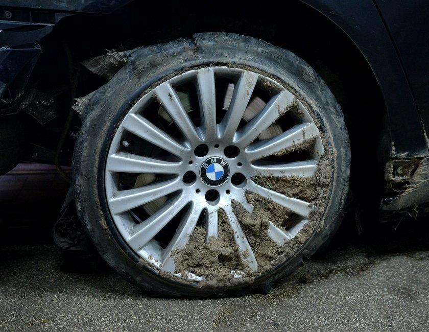 Ile kosztują opony do BMW prezydenta?