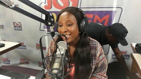 Naa Ashorkor at Joy FM