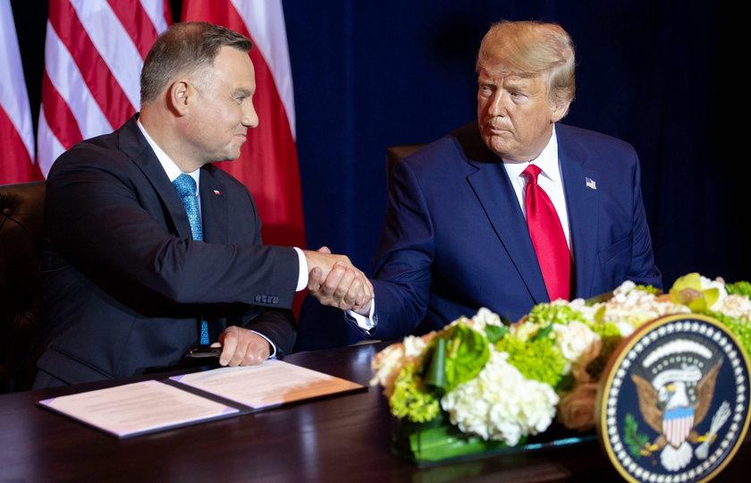 Duda i Trump podpisali wspólną deklarację