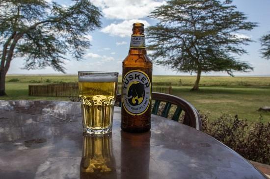 Tusker beer. (Kenyans)