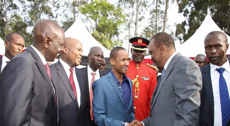 Babu Owino's early morning tweet on Uhuru sparks heated debate