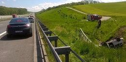 Śmierć na autostradzie pod Krakowem. Policja szuka świadków