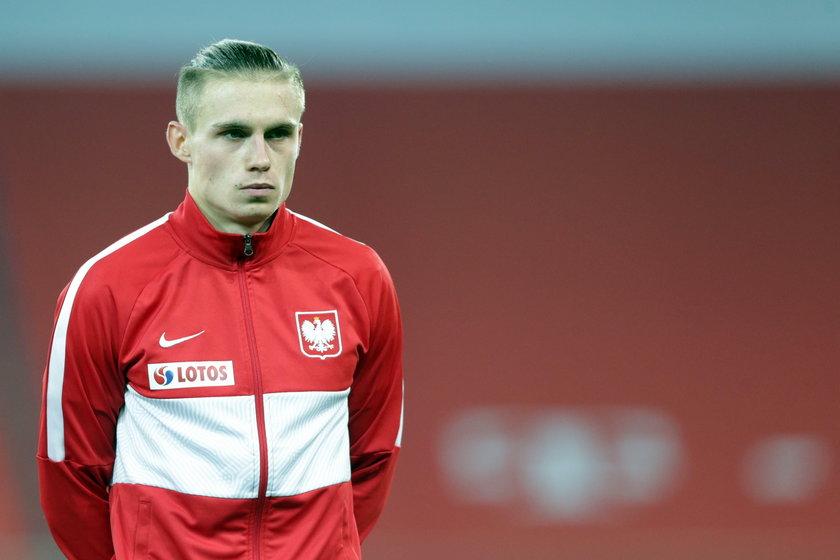 Selekcjoner kadry Jerzy Brzęczek (49.l.) był na tyle zadowolony z występu pomocnika Norwich City, że chciał, aby został w reprezentacji na kolejne występy.