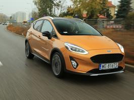 Ford Fiesta 1.0 Active – mieszczuch w przebraniu | TEST