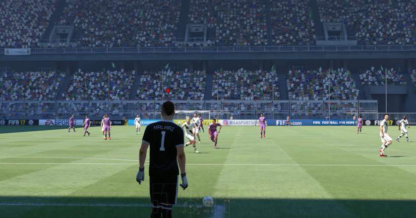 Screen z gry FIFA17